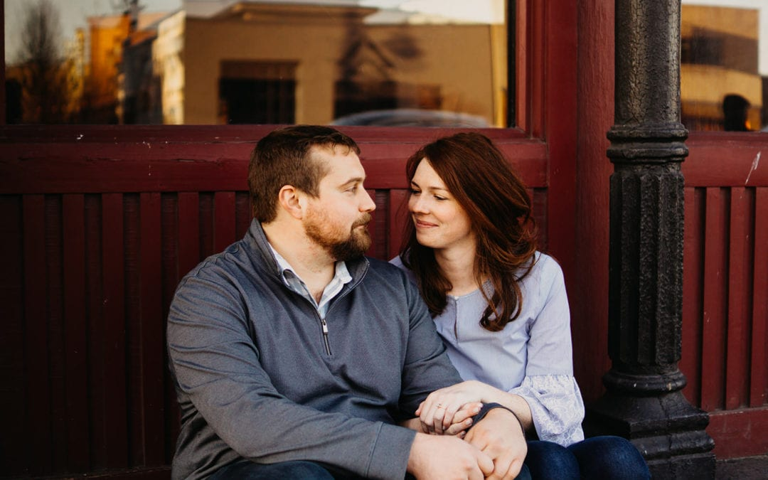 Shannon & Jimmy | Corktown Detroit Engagement