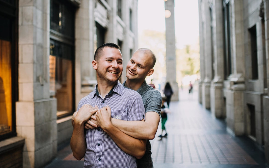 Corey & Ryan | Ann Arbor Engagement Session