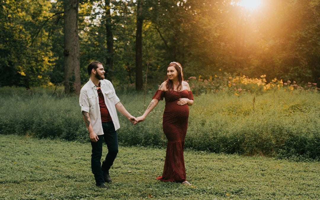 The Courtneys | Detroit Lifestyle Maternity Session