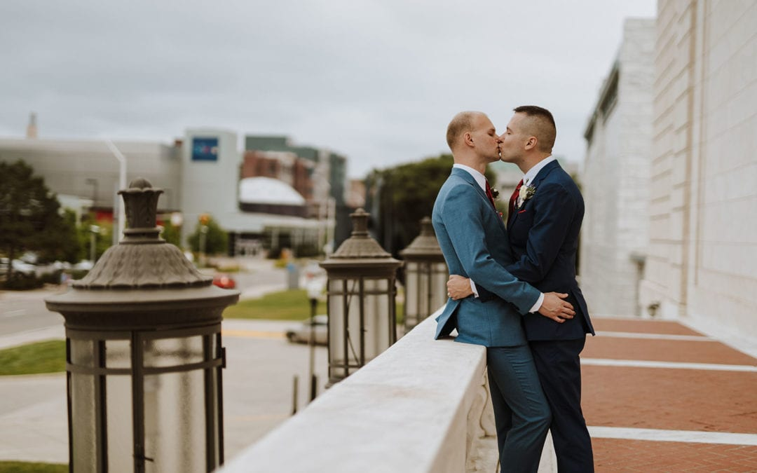 The Whitney Wedding Photographer | Corey & Ryan