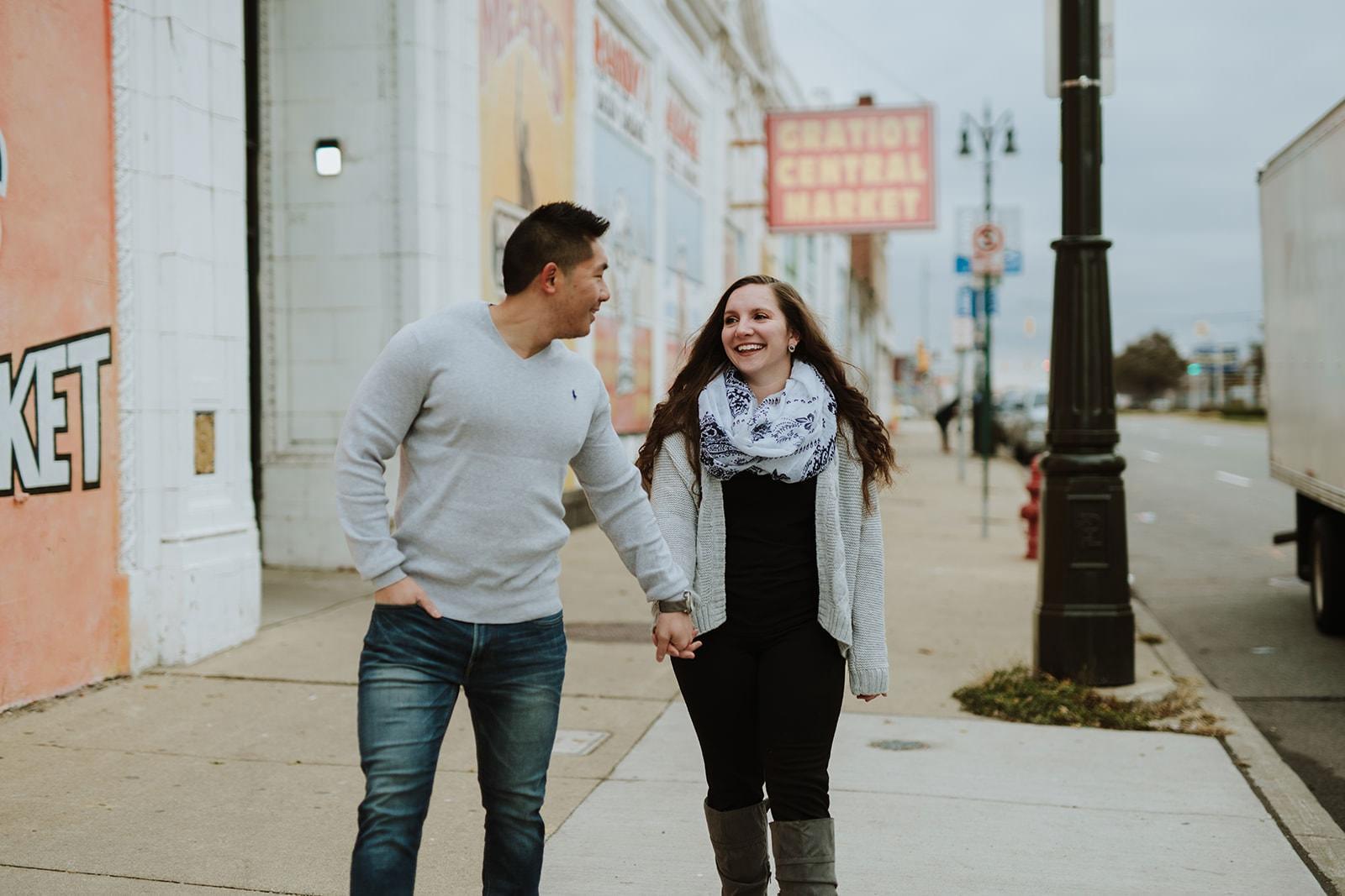 Eastern Market Couples Session | Jonny & Ashley