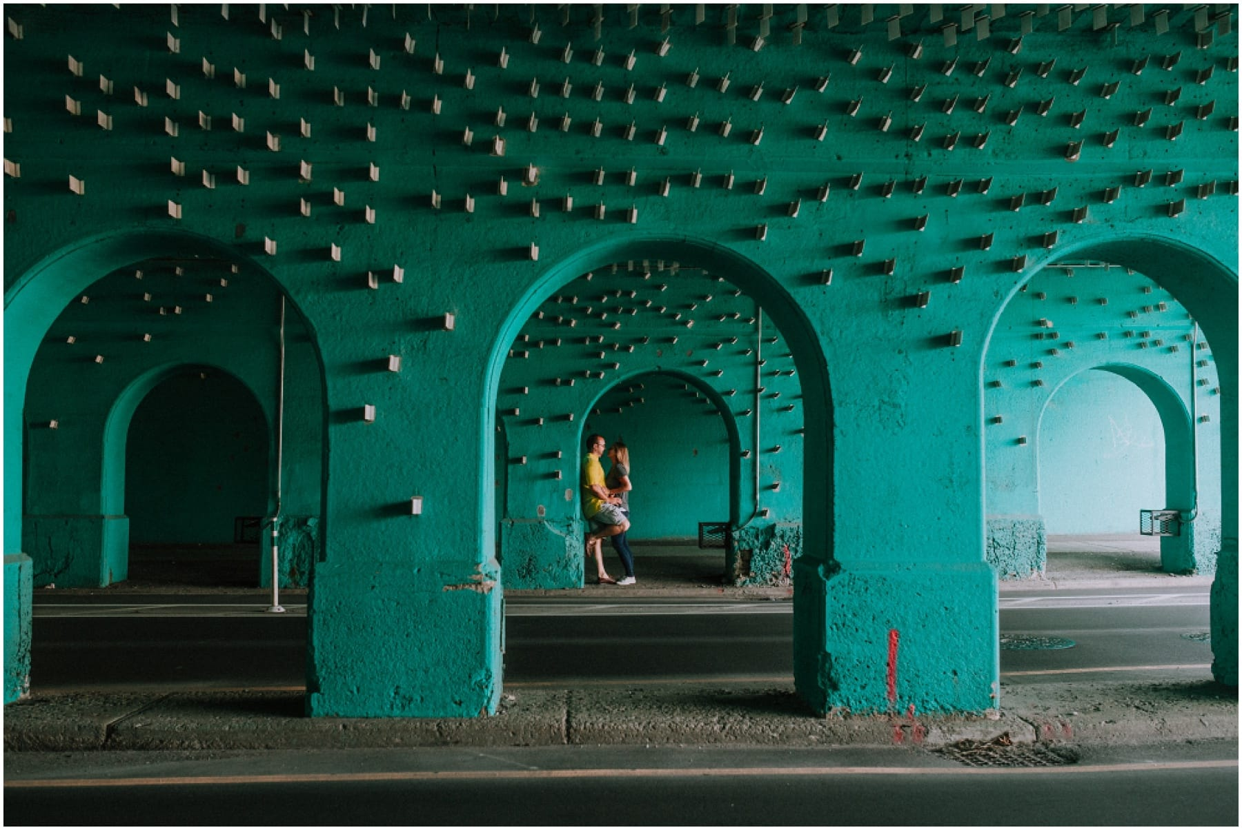 Cass Ave Viaduct Engagement Session