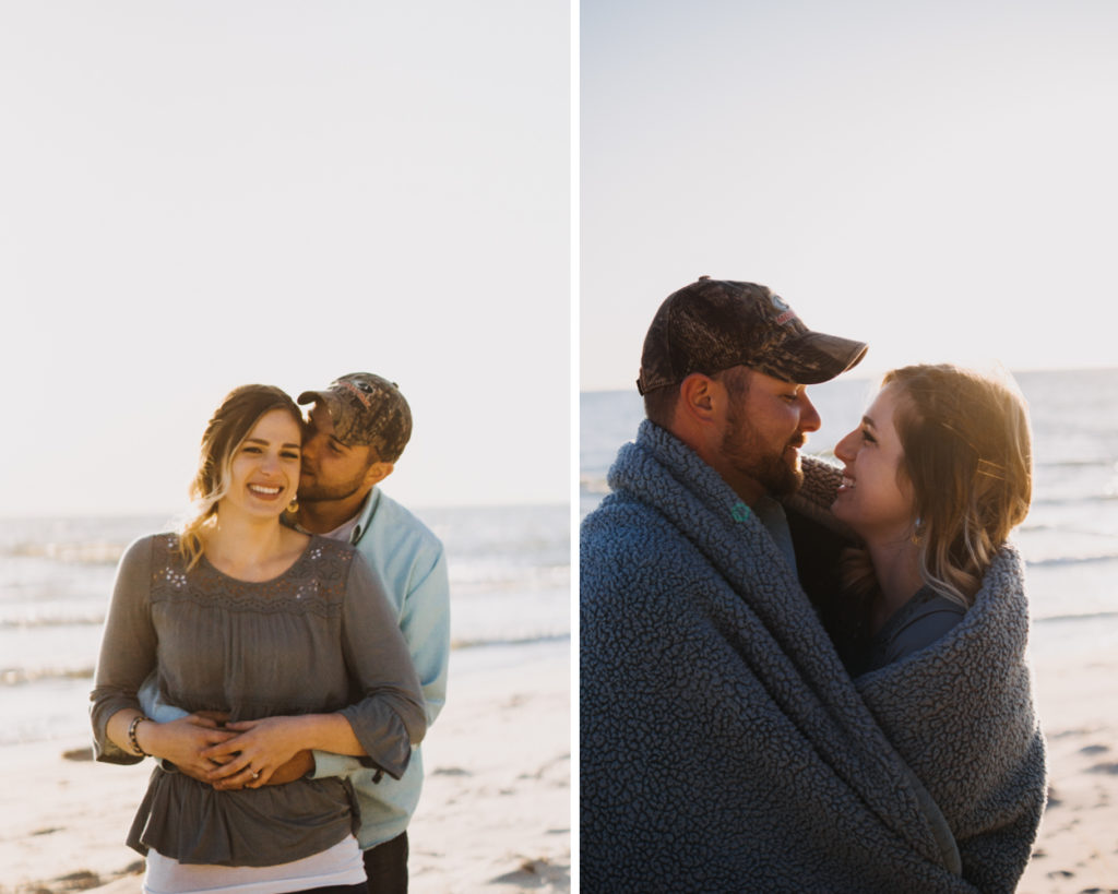 Hoffmaster State Park Engagement Session Lake Michigan Engagement Session