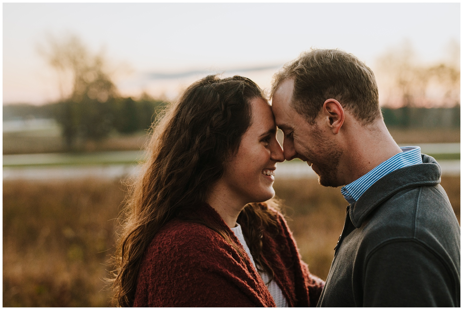 Indian Springs Metropark Engagement Session | Kevin & Becca