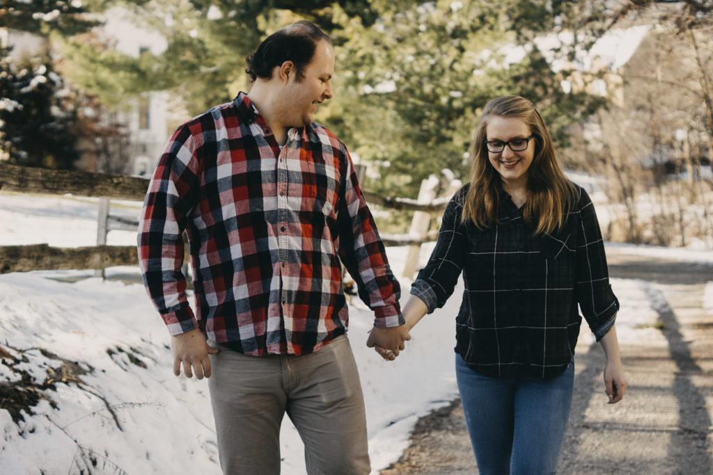 Nichols Arboretum Ann Arbor Engagement Session