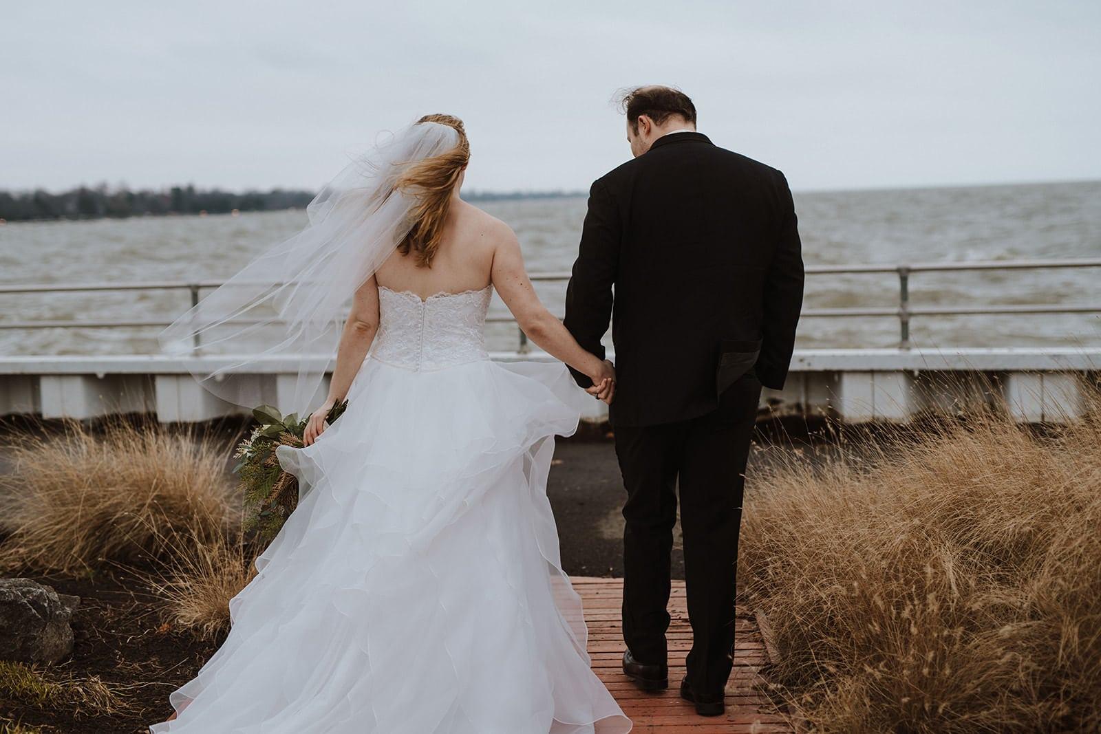 Pier Park Grosse Pointe Wedding