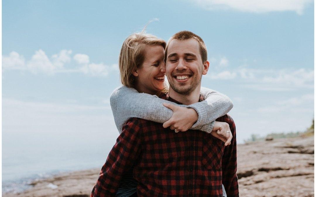 Duluth Minnesota Engagement Session | Celeste & Jeremy