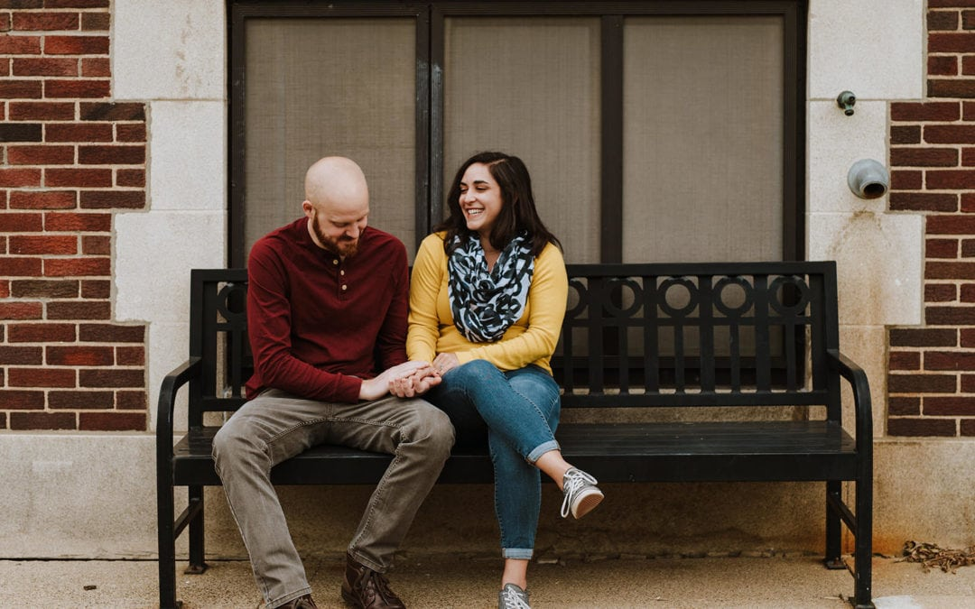 University of Michigan Engagement Session | Sarah & Brandon