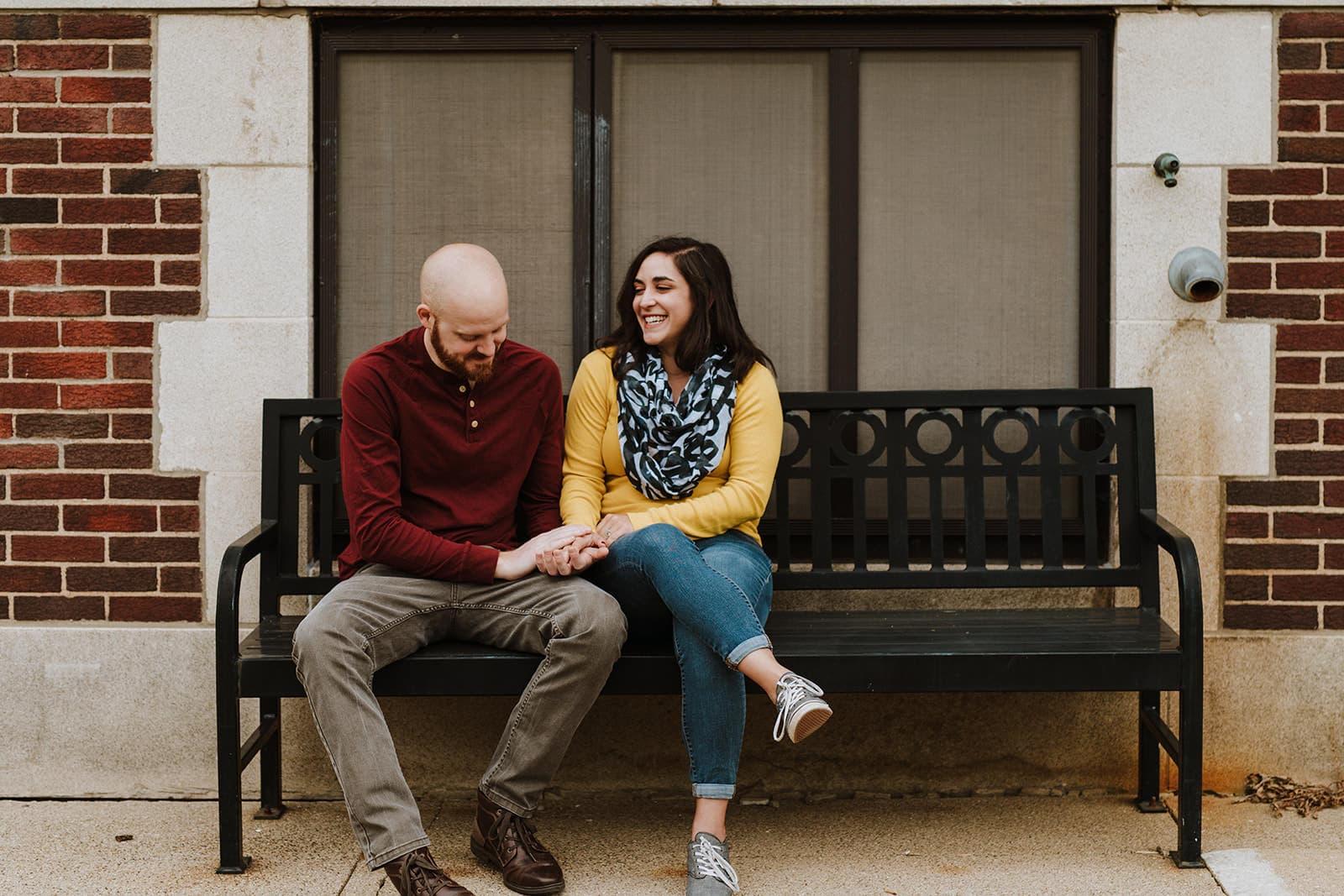 University of Michigan Engagement Session | Sarah & Brandon