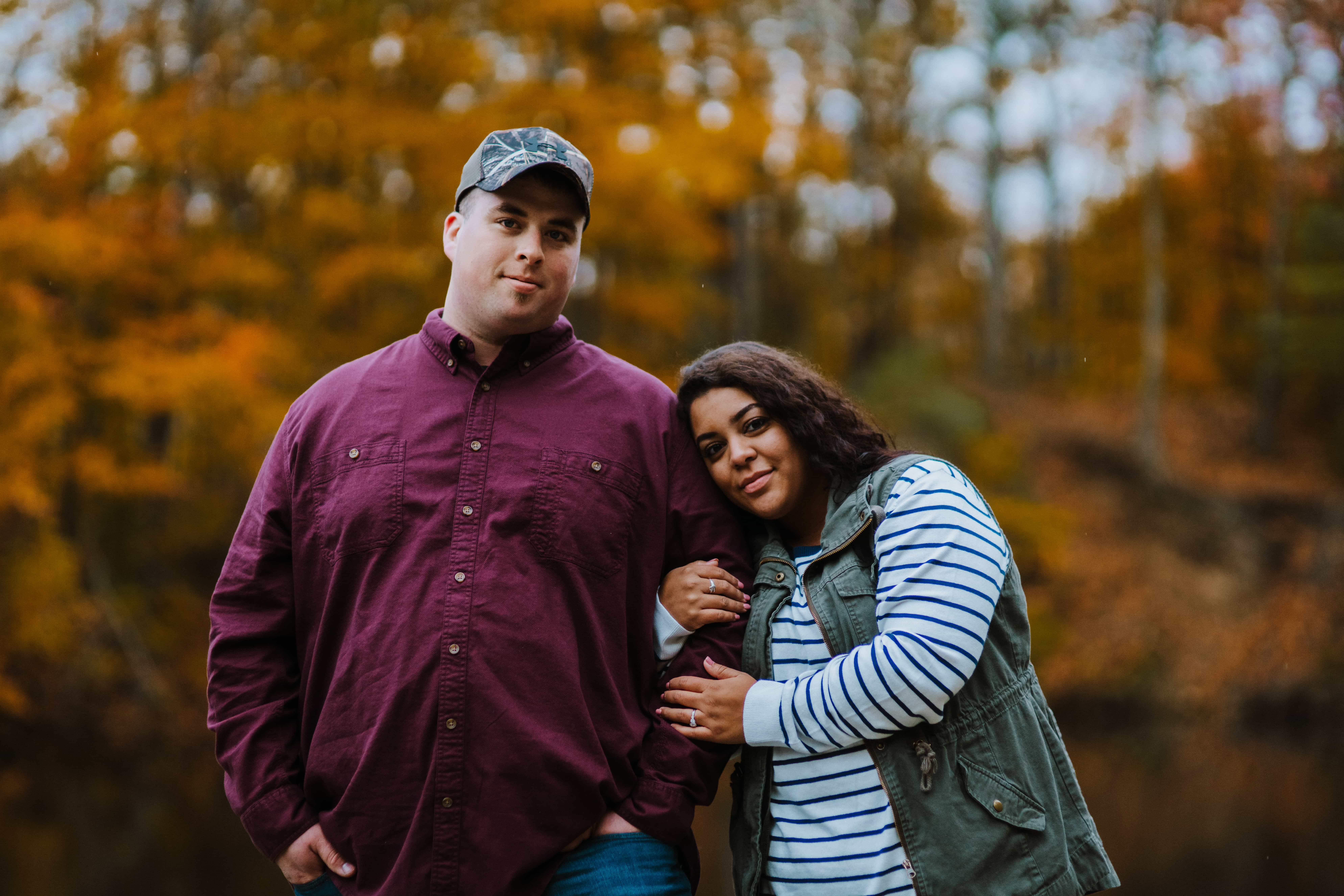 Lincoln Brick Park Engagement | Jasmine & Ricky