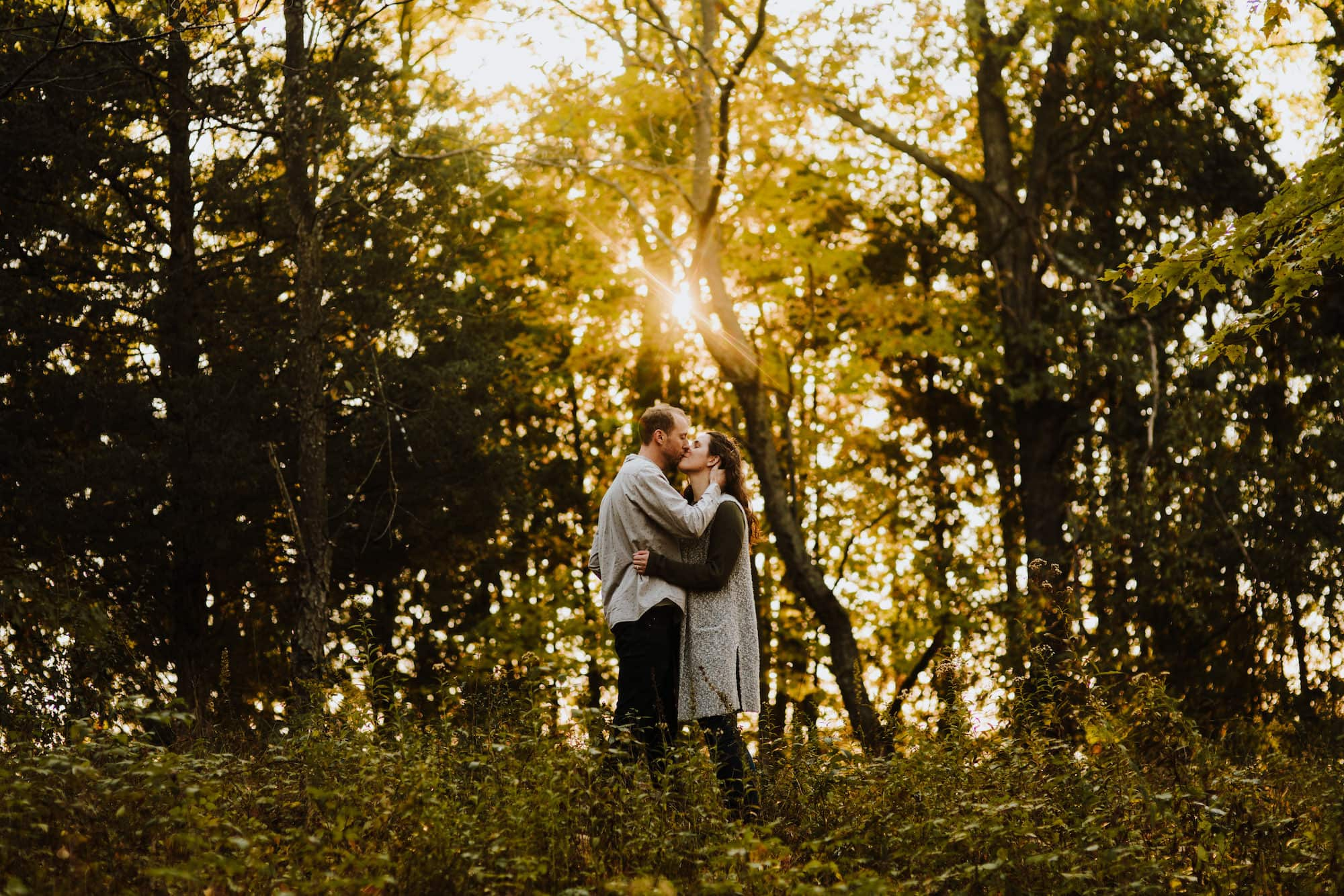 Indian Springs Metropark Engagement Session   Kevin & Becca