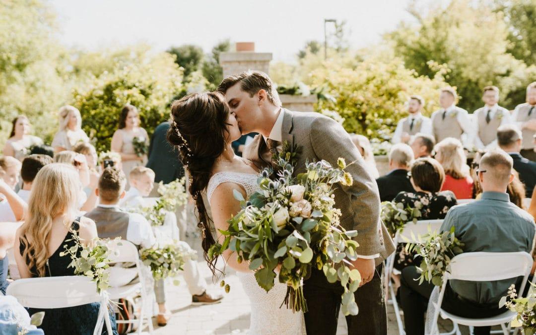 Summer Fenton Brewery Winery Wedding | Amber & Ben