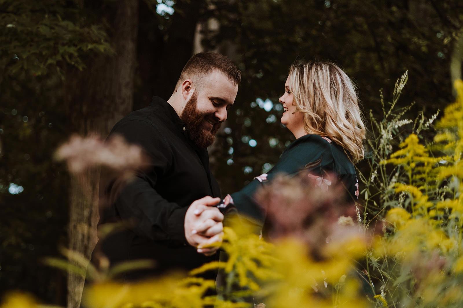 Summer Rochester Muncipal Park Engagement | Chelsea & Matt