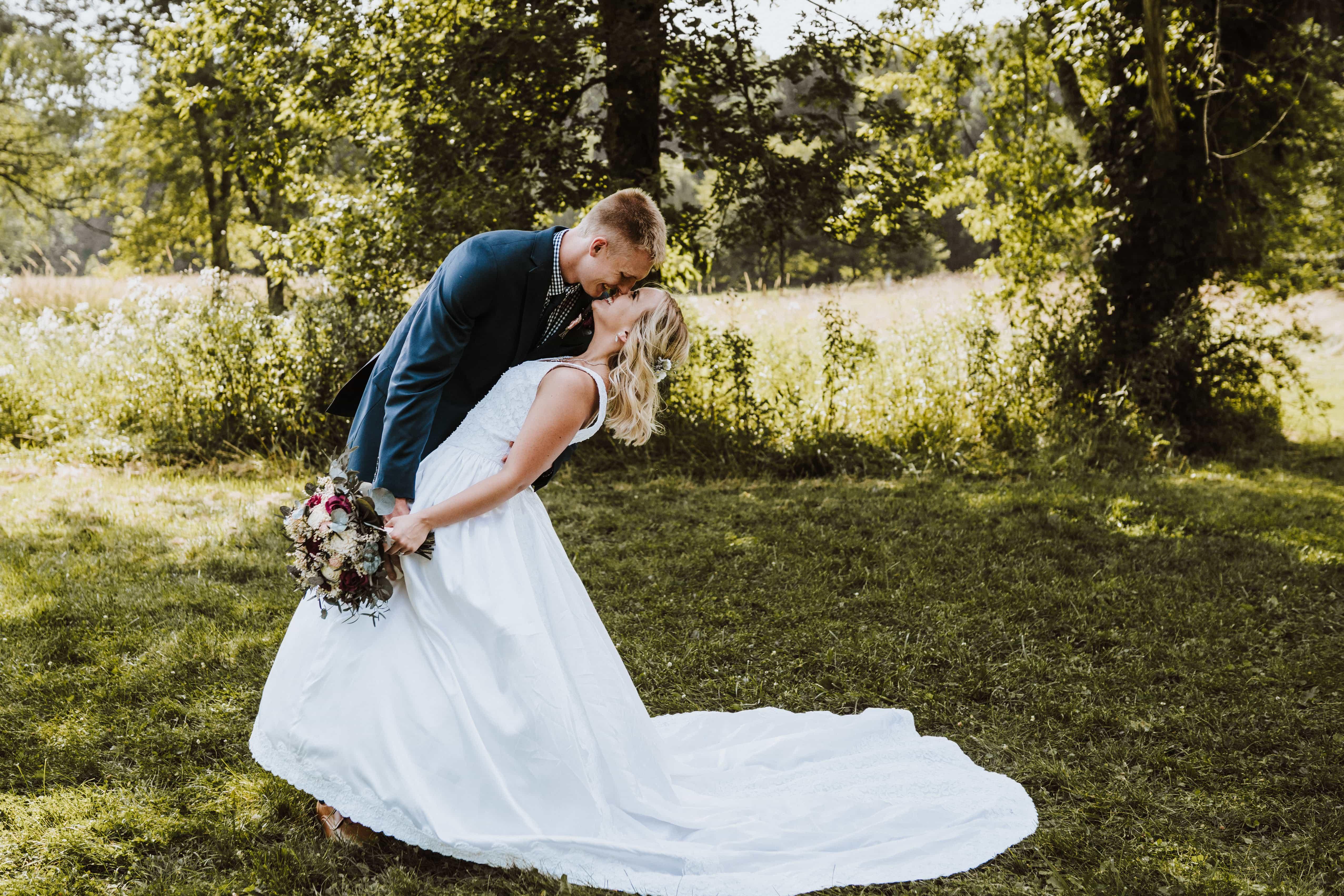 Adrian Michigan Wedding Photographer | Kristin and Noah