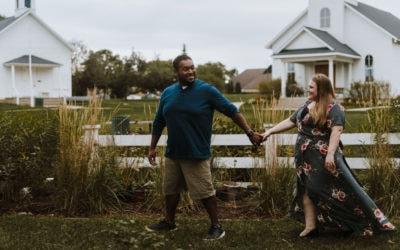 lansing michigan engagement photographer