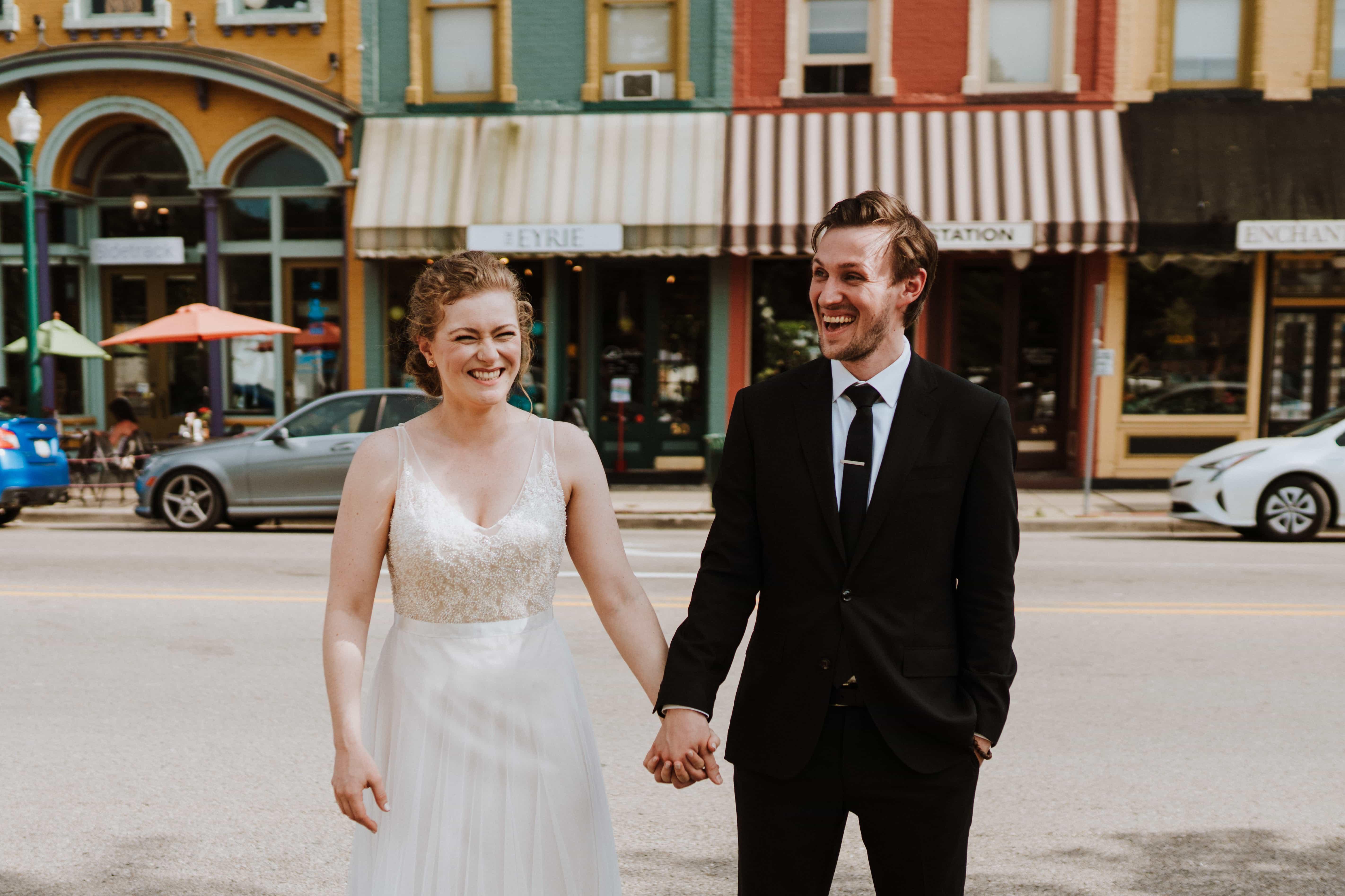 Ypsilanti Freighthouse Wedding | Abby & Malcolm
