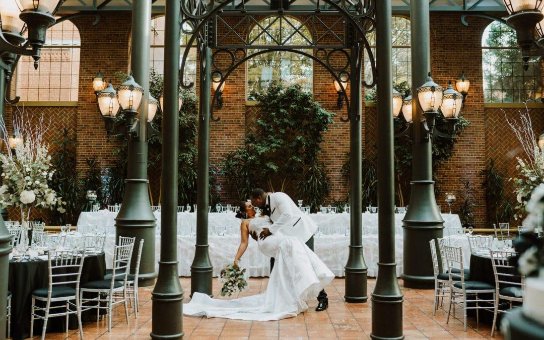 Inn at St. John's Atrium Wedding | Krystal & LaRon