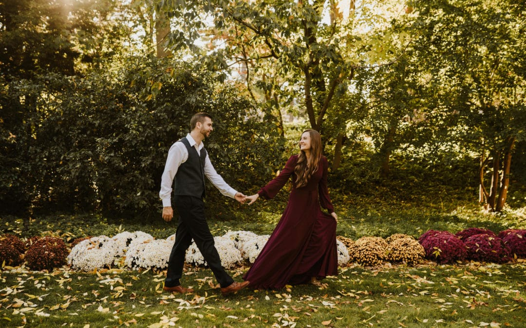 Fall Michigan State University Engagement | Trevor & Jamie