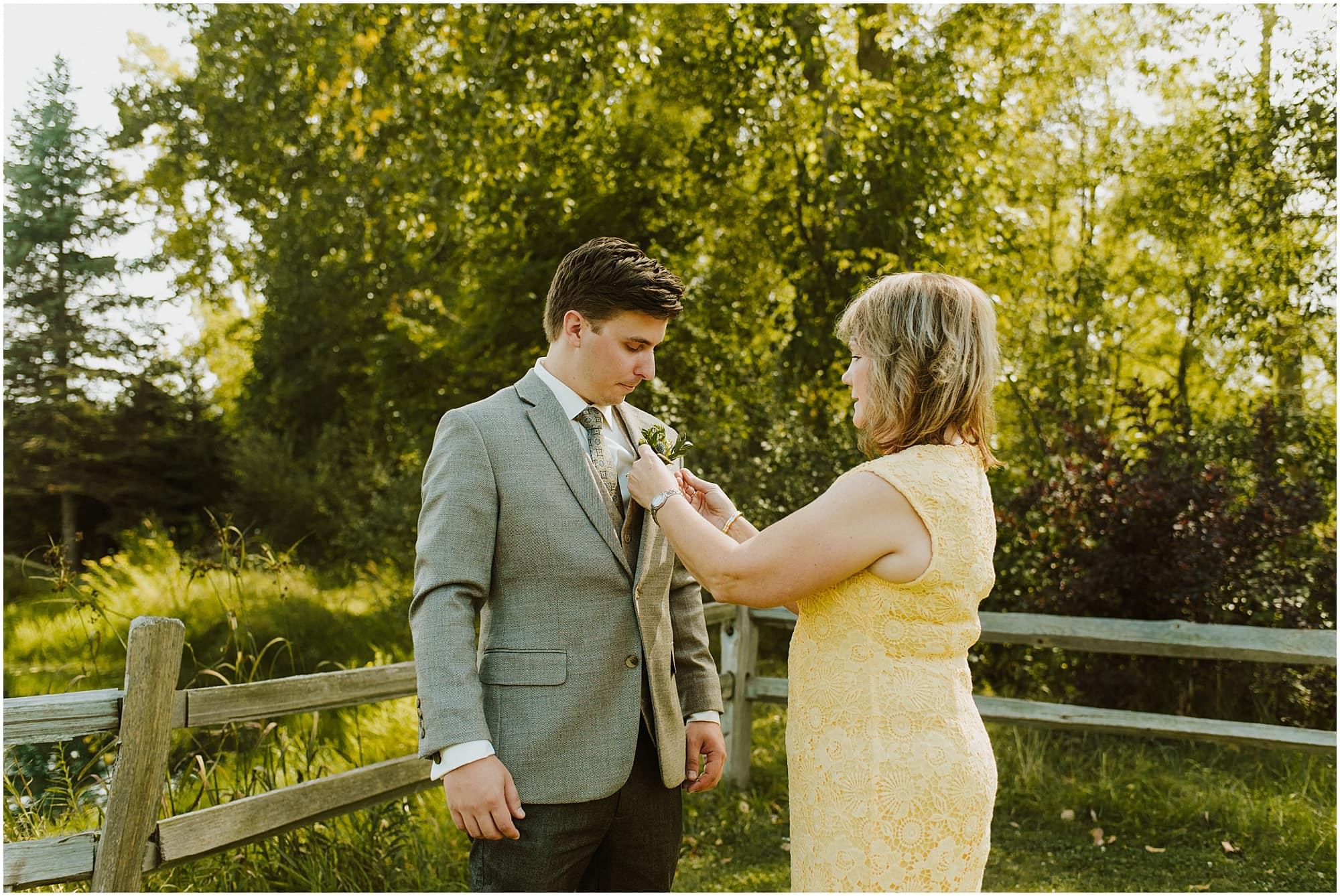 Summer Fenton Winery & Brewery Wedding