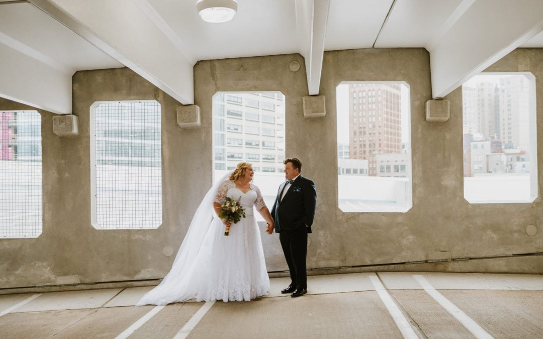 Downtown Detroit Wedding |  Allison & Brian