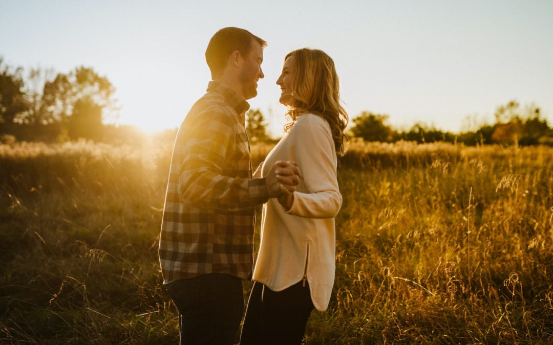 Seven Lakes State Park Engagement | Shelby & Barry