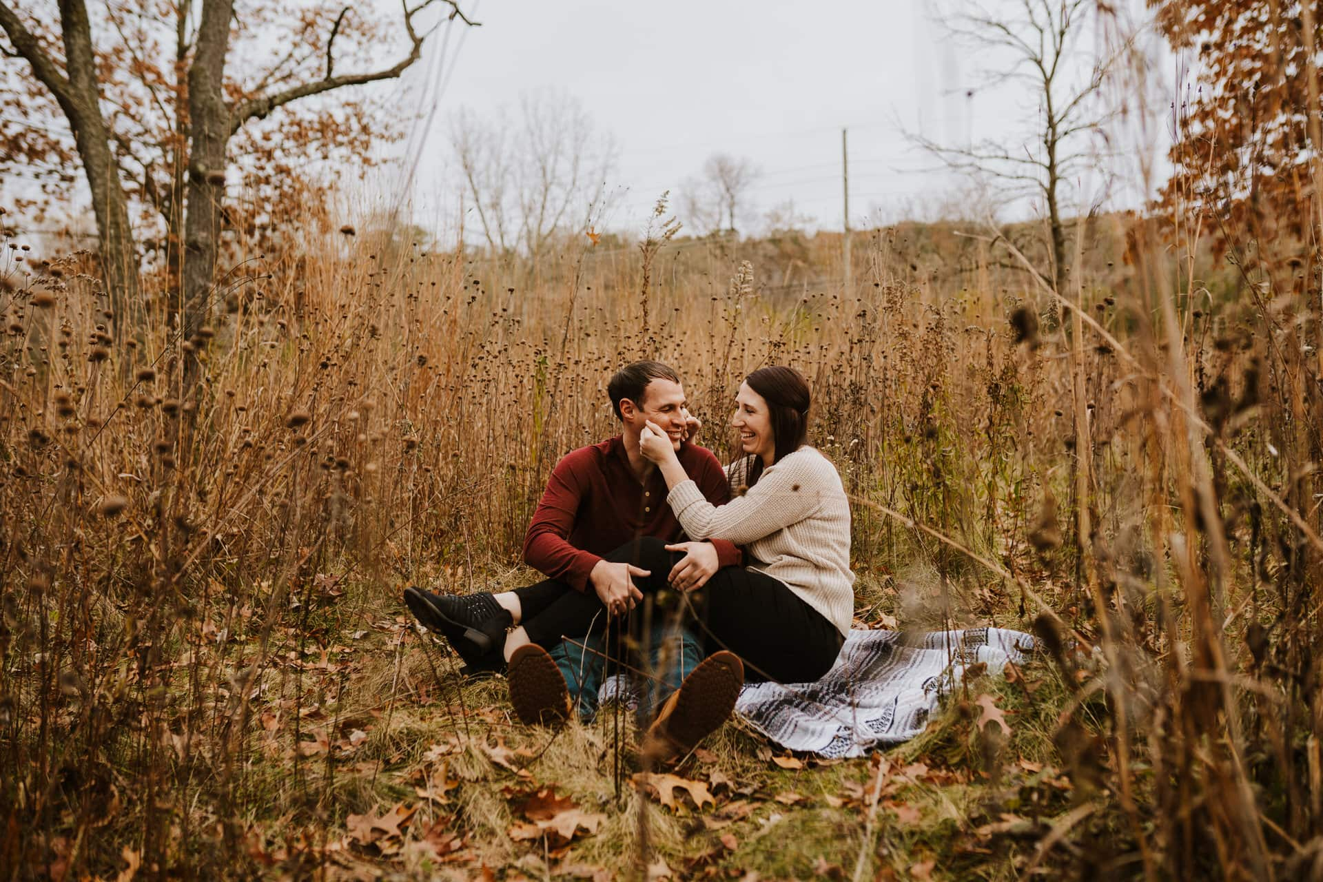 Fall Ann Arbor Engagement Session