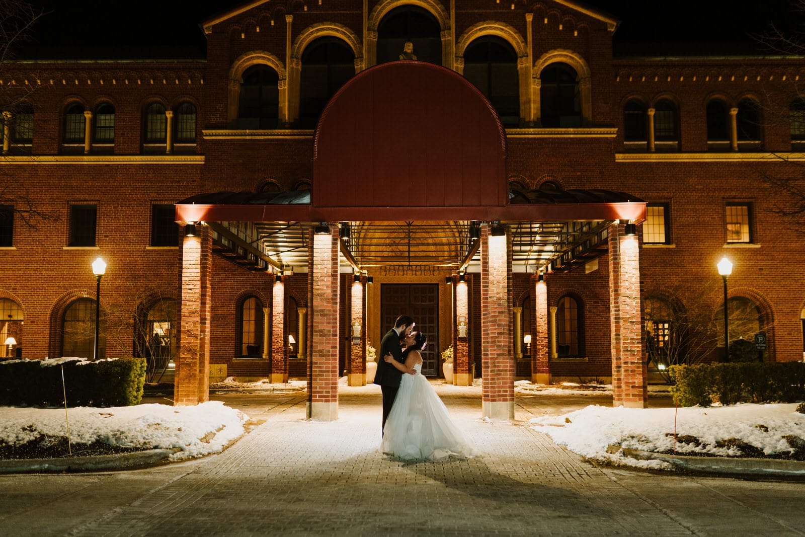 Winter Inn at St. John's Wedding | Dani & Matt