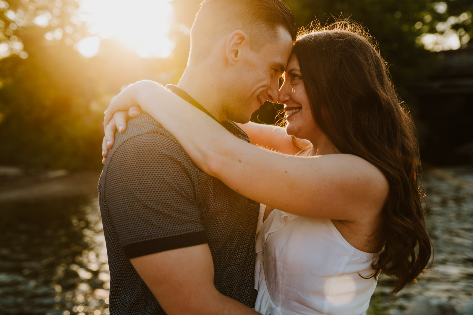 downtown utica engagement photographer