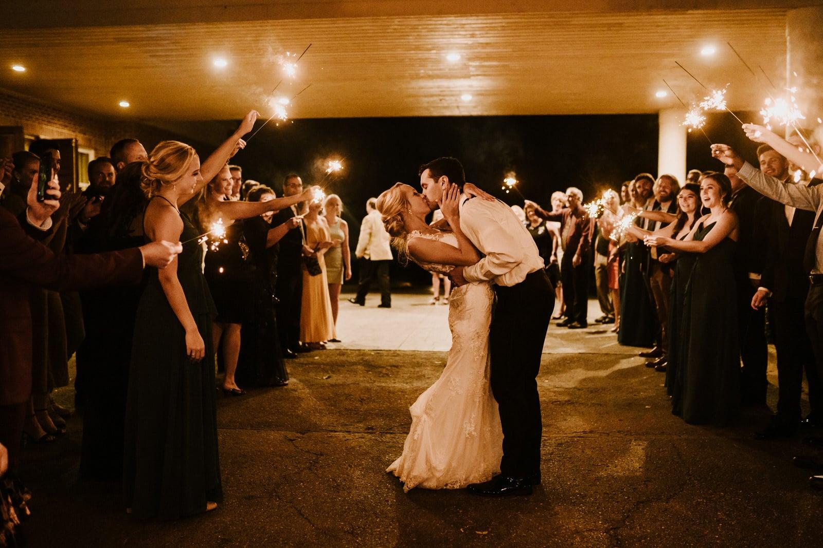 creative wedding exit ideas sparkler exiexit