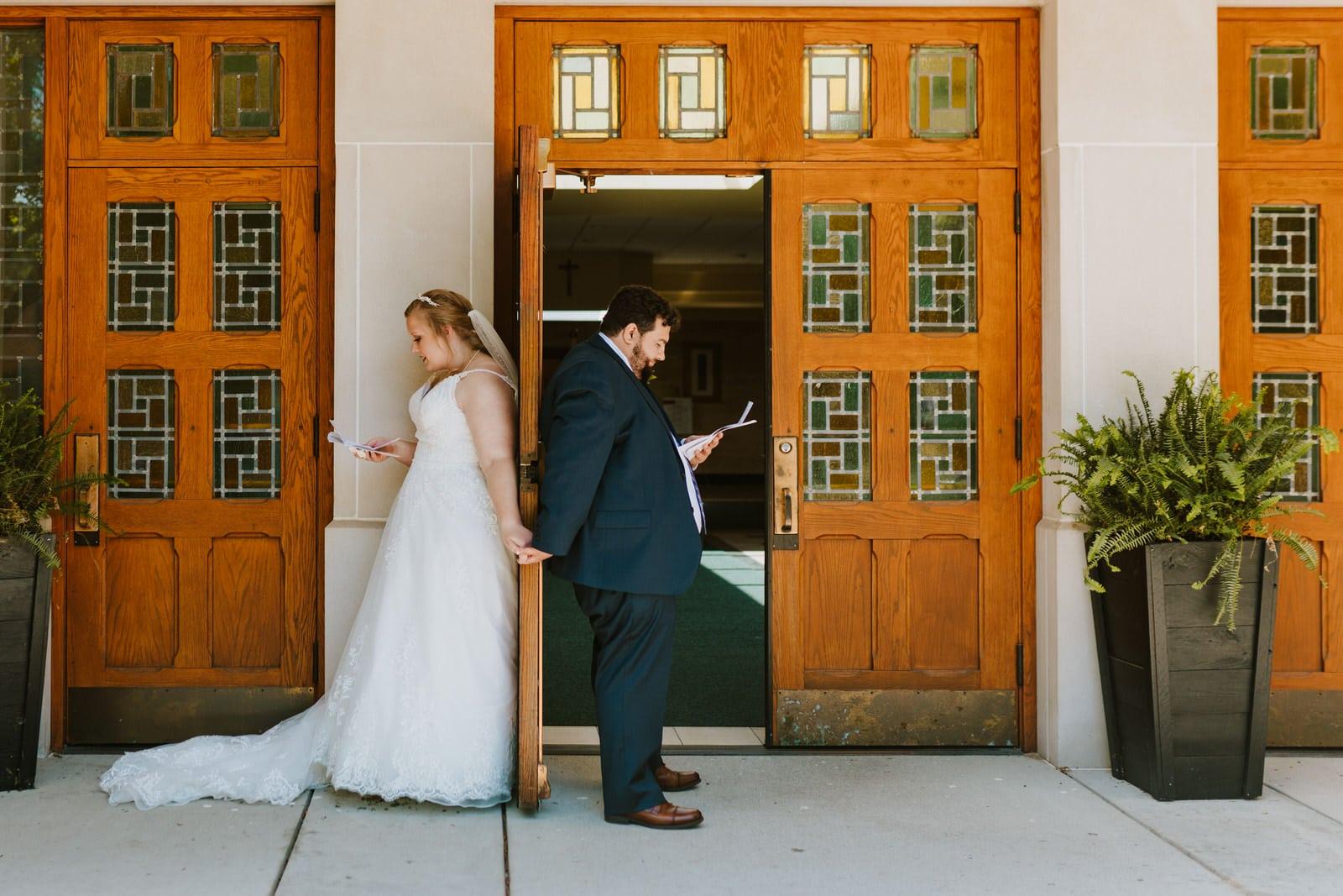 church of the divine child wedding