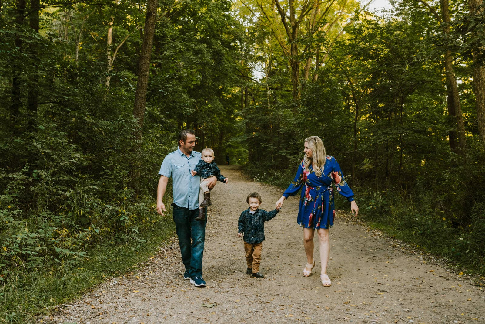 Summer Maybury State Park Family Session